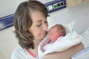 SOFIE VYMAZALOVÁ. Narodila se 16. května Zdeňce a Romanovi z Jarošova u Litomyšle. Vážila 2,72 kilogramu. Doma se na ni už těší bráška Románek.