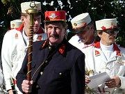 Na slavnosti u kaplička zahrála stylová kapela Šeucovanka ze Skutče.