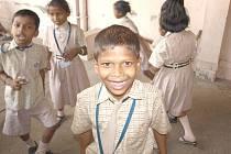 DĚTI V INDII. Klára Večeřová se zapojila do práce s dětmi v okrajové části města Mumbai.