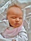 GABRIELA PTÁČKOVÁ. Narodila se 6. března Věře a Romanovi z Plzně, ale příbuzné má i v Poličce. Měřila 50 centimetrů  a vážila 3,79kilogramu. Má brášku Františka.