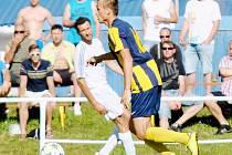 O výsledku prestižního derby rozhodli svitavští fotbalisté třemi zásahy do poločasu.