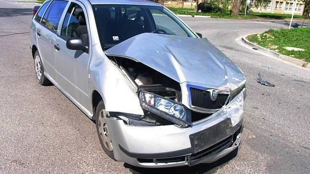 Řidička nedala přednost.