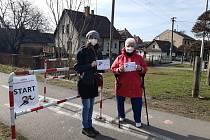 Běh pro hospic svatého Michaela v Poličce trvá až do konce dubna. Neváhejte. Foto: archiv Oblastní charita Polička