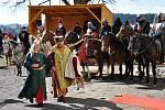 Jandlovi se účastnili řady historických akcí