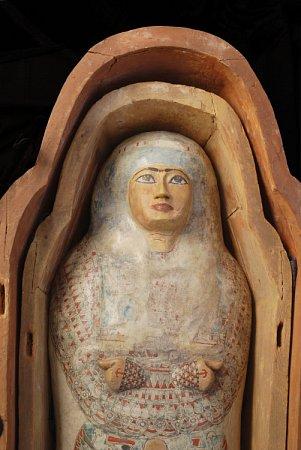 Klenotem muzea je mumie egyptské princezny Hereret.