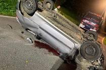 Dopravní nehoda v Horním Újezdě - Cikově