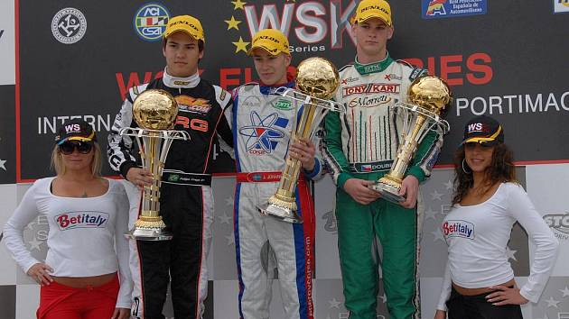 Martin Doubek se ve WSK EuroSeries zařadil mezi elitu ve třídě KZ2. Prestižní seriál pokračuje v červnu v Itálii.