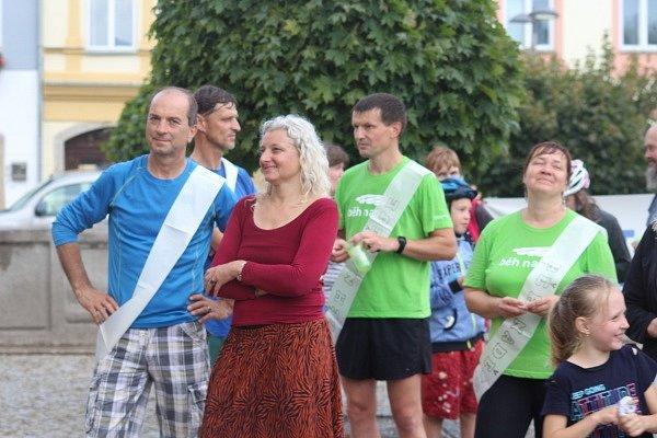 Běh naděje v Poličce.