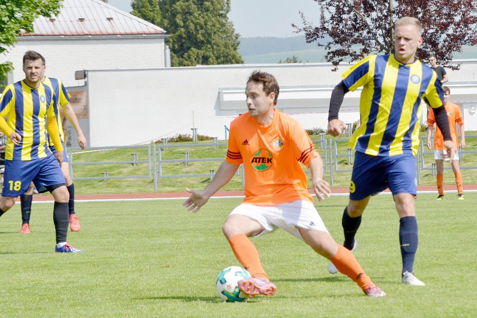 TJ Svitavy vs. SKP Slovan Moravská Třebová.