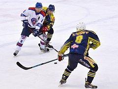 Z utkání HC Litomyšl vs. HC Spartak Choceň.