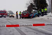 Tragická nehoda si vyžádala poslední den roku 2010 dva životy a tři zraněné