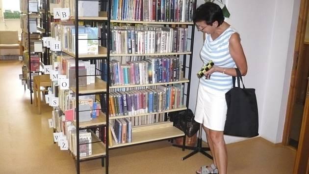 Knihovna v Litomyšli je vylepšená.