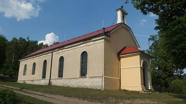 Evangelický kostel v Moravské Chrastové.