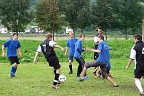 Turnaj v malé kopané ve Vranové Lhotě.