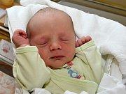 JONÁŠ CACH. Narodil se 1. června Zuzaně a Petrovi z Oldřiše. Měřil 47 centimetrů a vážil 2,7 kilogramu.