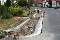 Nové chodníky v Morašicích jistě ocení