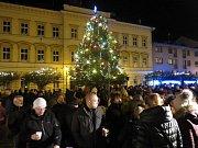 Rozsvěcení vánočního stromečku ve Svitavách