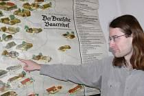 KURÁTOR VÝSTAVY Petr Chaloupka vybral do expozice tři desítky map a čtyři unikátní atlasy.