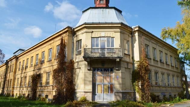 Budova bývalého oddělení dětské nemocnice v Moravské Třebové.