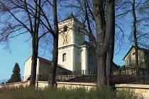 Oslavy výročí kostela v Horní Hynčině.