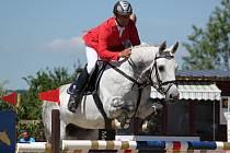 Na parkurový sport v podání špičkových českých koní a jezdců byl na kolbišti na Suché jako vždy krásný pohled.