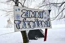 25. ročník Zimního táboření na Kozlově.