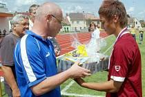 O domácí žákovské fotbalové tituly se bojovalo na Svitavském stadionu.