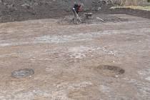 Archeologický výzkum římského pochodového tábora v Jevíčku pokračuje