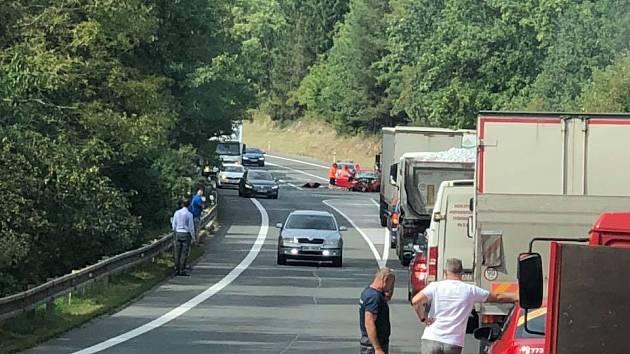 Vážná nehoda u Borušova