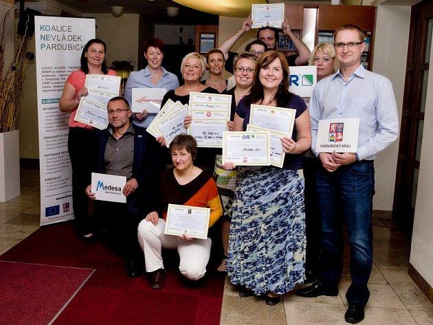 Zástupci neziskových organizací a donátoři  ze svitavského okresu se sešli na poslední burze filantropie v tomto roce v Litomyšli.