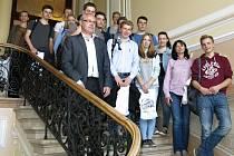 Němečtí studenti navštívili své kamarády ve Svitavách.