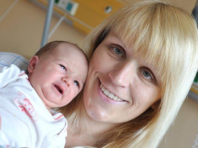 AMÁLKA FILIPI je jedno z posledních dětí, které se v Litomyšli narodily. Přišla na svět v pátek ve 22.13 hodin.