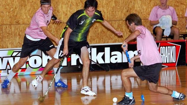 V úvodním kole druhé florbalové ligy prohrál nováček z Litomyšle ve Svitavách.
