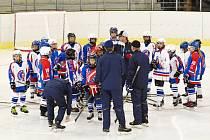 Hokejový seminář v Litomyšli.