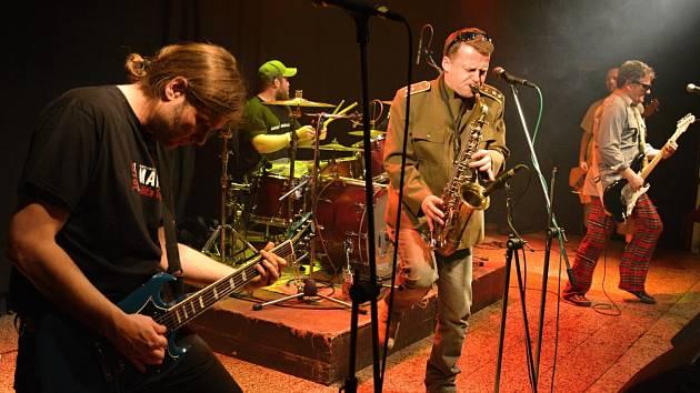 Kapela Volant slavila v Kotelně 20. výročí svého působení na hudební scéně.