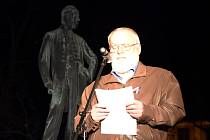 František Zeman na oslavách 30 let svobody.