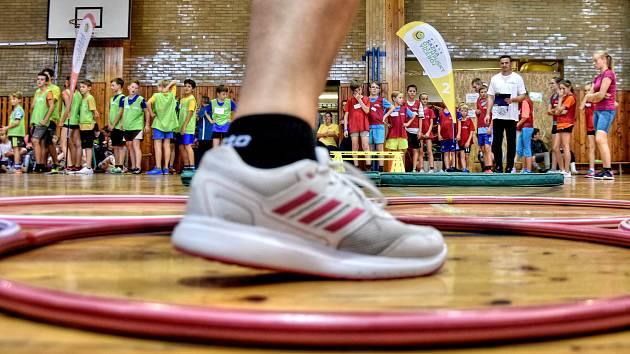 Olympijský trénink.