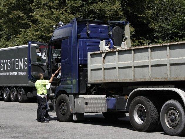 Dopravní kontrola na Svitavsku