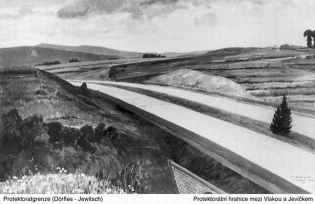 Po Hitlerově dálnici zbyly vkrajině stavby, Němci silnici nikdy nedokončili.