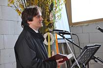 Již podruhé se sešli věřící na staveništi kostela Církve bratrské v Litomyšli.