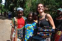 Markéta Kutilová v Kongu.