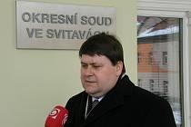 Advokát Ondřeje Rédy Vilém Fránek.
