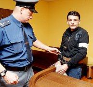 Petr Markušic u soudu