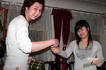 Vietnamci ze Svitav slavili nový rok společně.