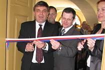Slavnostní otevření Centra Bohuslava Martinů v Poličce.