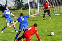 Cerekvičtí fotbalisté podlehli Srubům a s podzimem se rozloučili neúspěšně.
