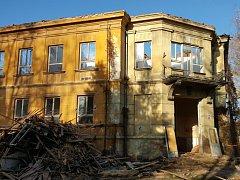 Budova bývalé dětské nemocnice
