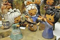V litomyšlském muzeu jsou k vidění betlémy nejen ze dřeva, ale také z keramiky.