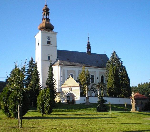 کلیسای Rihnov در Morave