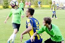 TJ Sokol Morašice vs. TJ Svitavy (1:3).